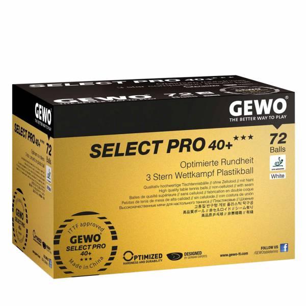 Gewo Ball Select Pro 40+*** 72er