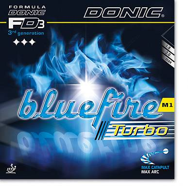 "DONIC ""Bluefire M1 Turbo"""