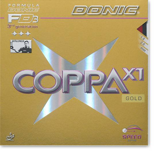 "DONIC ""Coppa X1 (Gold)"""