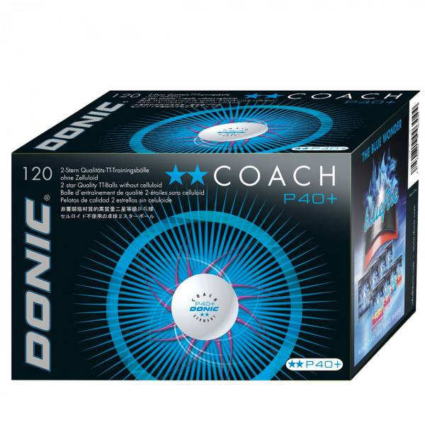 "DONIC ""Coachball P40+**"""