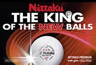 """Nittaku """"Premium 40+ *** Cell-Free"""""""